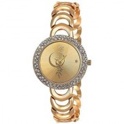 TRUE CHOICE TC 032 GOLD DAIL ANALOG WATCH FOR GIRLS.