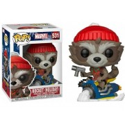 Figura FUNKO POP! Marvel: Holiday - Rocket