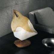 SiL LUX Sillux Lampada da Tavolo Firenze H 38 cm 1 Luce 46W