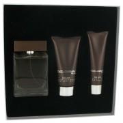Dolce & Gabbana The One EDT Spray 3.3 oz/97.59 mL + Balm 2.5 oz/73.93 mL + Shower Gel 1.6 oz/47.31 mL Gift Set 516365