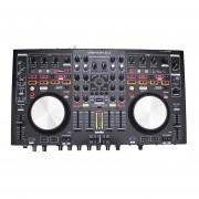 CONTROLADOR DENON MC6000MK2 DJ PRO 4 CANALES NEGRO
