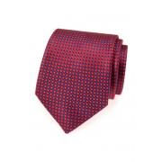 Pánská kravata červeně a modře kostkovaná Avantgard 559-1604