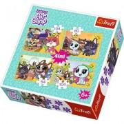 Puzzle 4w1 - Littlest Pet Shop, Mile wspomnienia + EKSPRESOWA DOSTAWA W 24H