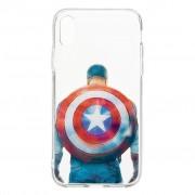 MARVEL Ochranný kryt pro iPhone XS - MARVEL, Captain America 002