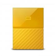 Western Digital WD My Passport WDBYNN0010BYL - Disco rígido - encriptado - 1 TB - externa (portátil) - USB 3.0 - 256-bits AES - amarelo