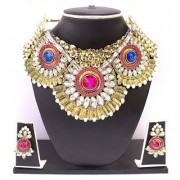 Zaveri Pearls Beautiful Austrian Diamond Jewel Set