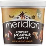 Meridian 100% Mogyoróvaj - Peanut Butter Természetes mogyoróvaj 1000g hozzáadott cukor, só és olaj nélkül