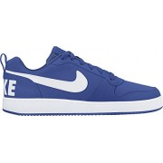 Nike Mens Court Borough Low Basketball Sneakers Game Royal White 11 D(M) US