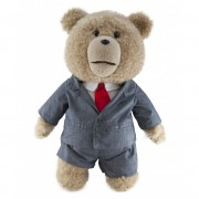 Ted in suit, Official Talking Ted Movie 30 cm