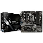 MB ASRock Z370M PRO4, LGA 1151v2, micro ATX, 4x DDR4, Intel Z370, S3 6x, VGA, DVI-D, HDMI, 36mj