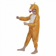 Kaku Fancy Dresses Horse Farm Animal Costume -Brown for Boys Girls