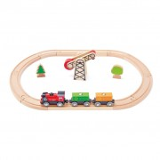 Hape Battery Powered Train Set E3721