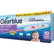 Clearblue Ägglossningstest Digitalt ägglossningstest. 10 st