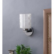 The Light Store Steel Wall Light - White 40 W