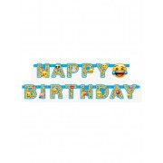 Vegaoo Happy Birthday - Slinga från Emojis One-size