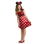 Disney Minnie Mouse Clubhouse Tween Costume, Red/White/Black, X-Large/14-16