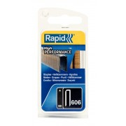 Capse Rapid 606 30 mm galvanizate cu rasina 600 blister