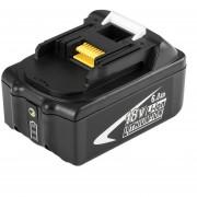 ER 18V 6AH 6000mAh Li-Ion Batería Herramienta Electrónica Para MAKITA BL1860 -Negro