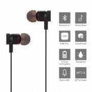 S4 Magnetic Wireless Bluetooth Headset with Mic for Handsfree Calling Noise Cancelling for Redmi Oppo Samsung Vivo