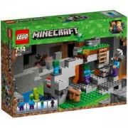 Конструктор Лего Майнкрафт - Пещерата на зомбитата, LEGO Minecraft, 21141