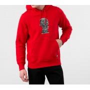 Vans x Jim Goldberg Sweatshirt Racing Red
