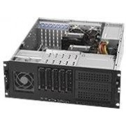 SUPER MICRO Supermicro SC842 TQC-865B - Rack-uitvoering - 4U - uitgebreide ATX - SATA/SAS - hot-swap (verwisselbaar zonder uitschakelen) 865 Watt - zwart