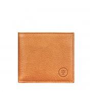 Maxwell-Scott Leder Geldbörse mit Münzfach in Camel - Weiches Leder - Brieftasche, Portemonnaie, Geldbeutel, Kreditkartenetui