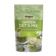 Green Detox Mix Bio (Spirulina, Chlorella, Orz Verde, Iarba Grau) Dragon Superfoods 200gr