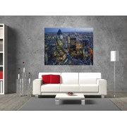 "Tablou grand canvas ""London Skyline At Sunset"" - cod Z29"