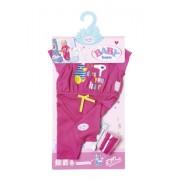 Set hainute si accesorii pentru baita pentru papusile BABY BORN