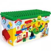 Детски конструктор - Зоопарк - 10808 Mochtoys, 5907442108088