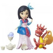 Figurina Hasbro Disney Princess Little Kingdom Small Doll & Friend Mulan'S Tea Party