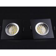 GWEN: Fekete keret LED izzóval