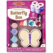 Креативен комплект - Направи си сам кутия пеперуда, 18853 Melissa and Doug, 000772188531