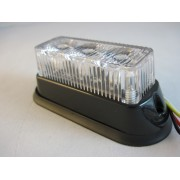 Flash auto LED 12-24V cu 3 LED-uri si 11 tipuri de iluminare