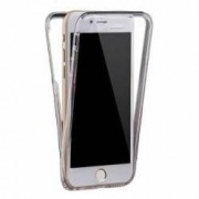 Husa protectie IMPORTGSM pentru Apple iPhone 5 5S 5C SE Silicon Protectie Fata Spate-360Grade Ultra Slim Transparenta