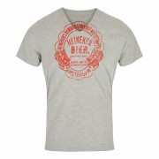 Heineken Head out for an afternoon with friends with a relaxed vibe in the total comfort of Heineken clothing. With a vintage 1873 Amsterdam Heineken label on the front and a Heineken badge on the back, there's no doubt whose side you're on in the