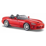 Maisto 1:24 2003 Scale Dodge Viper SRT-10 Diecast Vehicle (Colors May Vary)