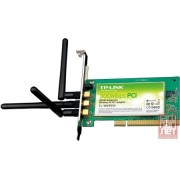 TP-LINK TL-WN951N, 300Mbps Wireless N PCI Adapter, 802.11b/g/n, Atheros Chipset, 3x Detachable Antenna