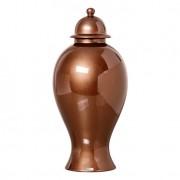 Pote de Cerâmica 36cm Bronze Mazzotti