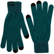 Myprotein Knitted Gloves – Teal - S/M - Green