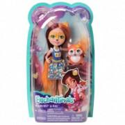 Enchantimals papusa Felicity Fox si micutul prieten Flick DVH89
