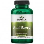 Swanson Acai Berry 500 mg 120 kapslí