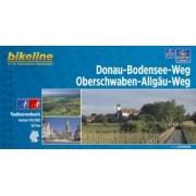 Fietsgids Bikeline Donau - Bodensee- Radweg   Esterbauer