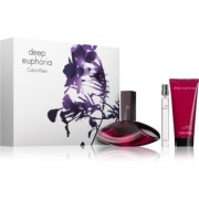 Calvin Klein Deep Euphoria lote de regalo II. eau de parfum 100 ml + leche corporal 100 ml + eau de parfum 10 ml