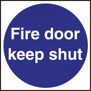 Nisbets Fire Door Sign