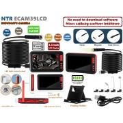 NTR ECAM39LCD Vízálló endoszkóp kamera 2MP 8mm átmérő 8LED + LCD monitor + 10m merev kábel