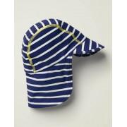 Boden Blau Bedruckter Badehut mit Sonnenschutz Baby Baby Boden, 80, Navy