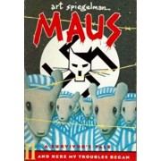 Maus II: A Survivors Tale: And Here My Troubles Began, Paperback/Art Spiegelman
