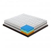 Materasso in Memory Foam termico 3 strati e 7 zone differenziate mod. Sardegna con Bioceramica F.I.R. 80x200